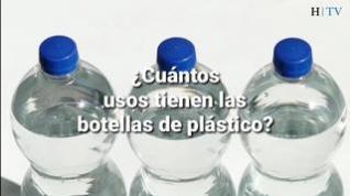 ¿Cuántas veces puedo utilizar una botella de plástico?