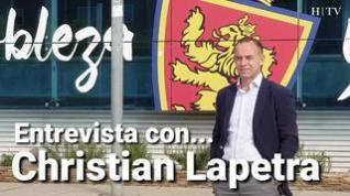 Entrevista con Christian Lapetra, este domingo, en HERALDO DE ARAGÓN