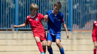 Final. Aragón Alevín Fútbol 8- La Salle vs. Montearagón.