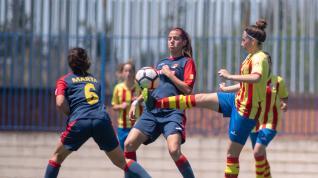 Final. Aragón Femenina- Oliver vs. Fleta.