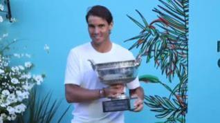 Rafa Nadal consigue su duodécimo Roland Garros y ya suma 18 Grand Slam