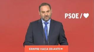 """Ábalos: """"La alternativa a un Gobierno socialista es obligar a los españoles a que vuelvan a votar"""""""