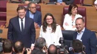 Desbloqueado 'in extremis' el acuerdo de la izquierda valenciana para investir a Ximo Puig