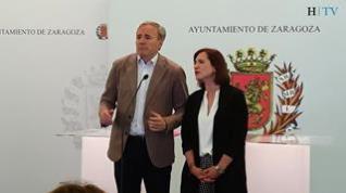 La reaccdión de Azcón y Fernández al enterarse de que Vox pone en duda su apoyo