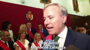 Jorge Azcón, nuevo alcalde de Zaragoza