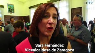 """Sara Fernández: """"Este lunes empieza la Zaragoza del cambio"""""""