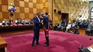 Así ha sido la investidura de Jorge Azcón como alcalde de Zaragoza