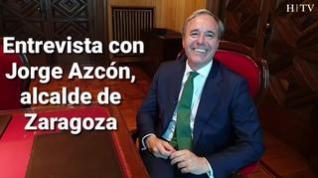 Entrevista con Jorge Azcón, alcalde de Zaragoza, este domingo en HERALDO