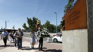 Azcón honra a Atarés en su primer acto como alcalde de Zaragoza.