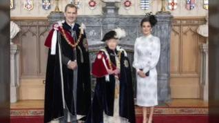 Felipe VI, investido caballero de la Orden de la Jarretera