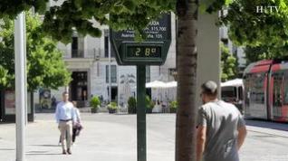 Zaragoza afronta junio con altas temperaturas