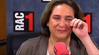 Las lágrimas de Ada Colau