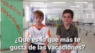Se acabó el cole… ¿qué van a hacer los niños aragoneses este verano?