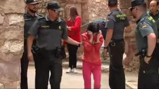 El hijo de la anciana cuyo cadáver apareció emparedado en Pozondón admite que la mató