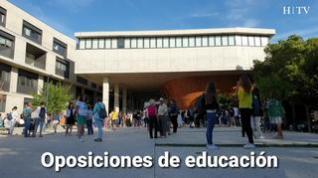 """Más de 10.000 maestros buscan su plaza en unas """"oposiciones históricas"""""""