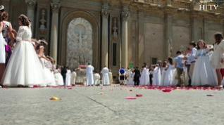Zaragoza celebra el Corpus Christi bajo un radiante sol