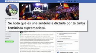 Vox desautoriza a Serrano tras sus críticas a la sentencia de La Manada