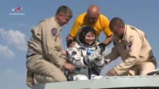 Los astronautas de la Expedición 59 regresan a la Tierra