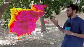 Todo Aragón en alerta por altas temperaturas, hasta 44ºC