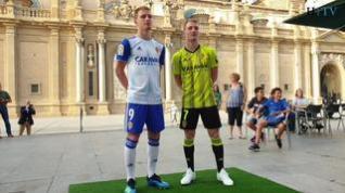 La nueva equipación del Real Zaragoza se puede personalizar gratuitamente