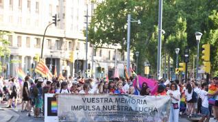 Manifestación del Día del Orgullo en Zaragoza