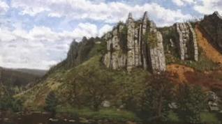Llamamiento ciudadano para identificar el paisaje de un cuadro del siglo XIX