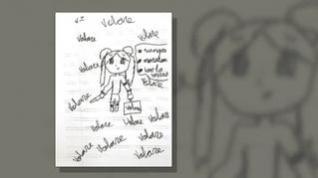 Un dibujo escolar de una niña de 11 años demuestra los malos tratos de su madre