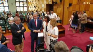 Zaragoza celebra el primer pleno de la nueva legislatura