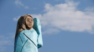 La escultura de Melania Trump en Eslovenia, ¿un nuevo Ecce Homo?