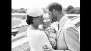 Las fotografías oficiales del bautizo de Archie Harrison