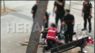 Muere un hombre en Zaragoza cuando lo detenían tras intentar agredir sexualmente a dos mujeres