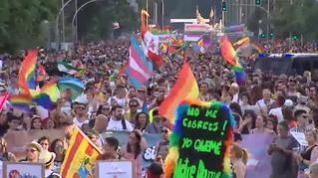 Las calles de Madrid se llenan del Orgullo más reivindicativo de los últimos años