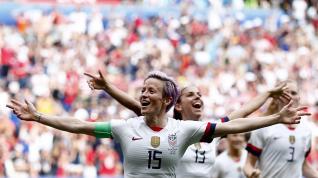 Estados Unidos-Holanda, final del Mundial de fútbol femenino.