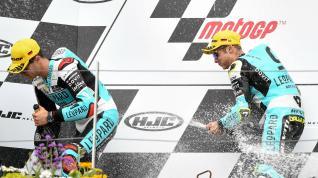 Victoria y liderato para Dalla Porta en el Gran Premio de Alemania de Moto3