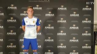Álex Blanco, nuevo jugador del Real Zaragoza