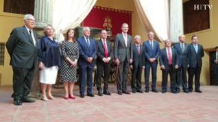 Felipe VI visita la Real Maestranza de Caballería de Zaragoza