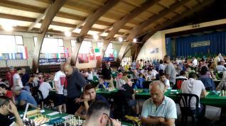 El Open Internacional de Benasque, un paraíso para los ajedrecistas invidentes