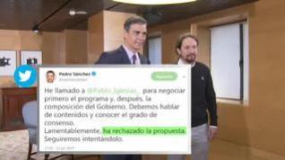 Todos los escenarios posibles que pueden darse en la investidura de Pedro Sánchez