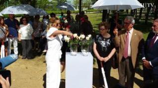 Zaragoza rinde homenaje a las víctimas del incendio del Hotel Corona