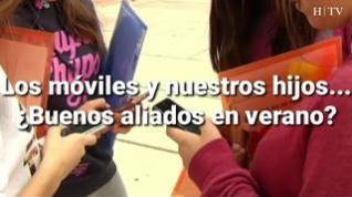 Móviles y niños: Claves para prevenir el uso indiscriminado en verano