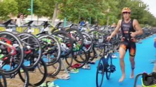 Zaragoza corre, nada y pedalea con el Triatlón