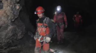 Encontradas las espeleólogas desaparecidas en una cueva de Arredondo, en Cantabria