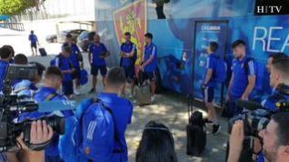 El Real Zaragoza viaja ya a Boltaña para continuar la pretemporada