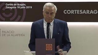 El debate de investidura para elegir a Lambán presidente de Aragón se celebrará el 30 y 31 de julio