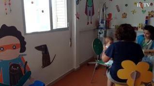 Vacaciones de verano en el Hospital Infantil: el arte de sacar sonrisas