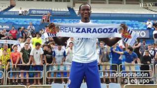 """Dwamena, nuevo jugador del Real Zaragoza: """"Mi objetivo, llegar a Primera División"""""""