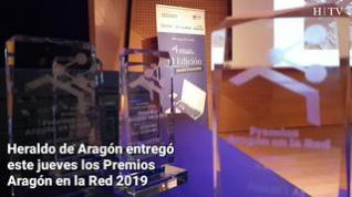Heraldo celebra la VI edición de los Premios Aragón en la Red