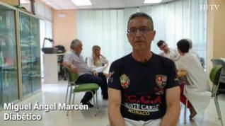 """Miguel Ángel Marcén, diabético: """"Gracias a la formación ayudo a mis vecinos recién diagnosticados"""""""