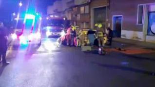 Un joven, herido tras un accidente por conducir de forma temeraria en Valdefierro