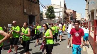 Juslibol, en Zaragoza, estalla con el arranque de sus fiestas patronales
